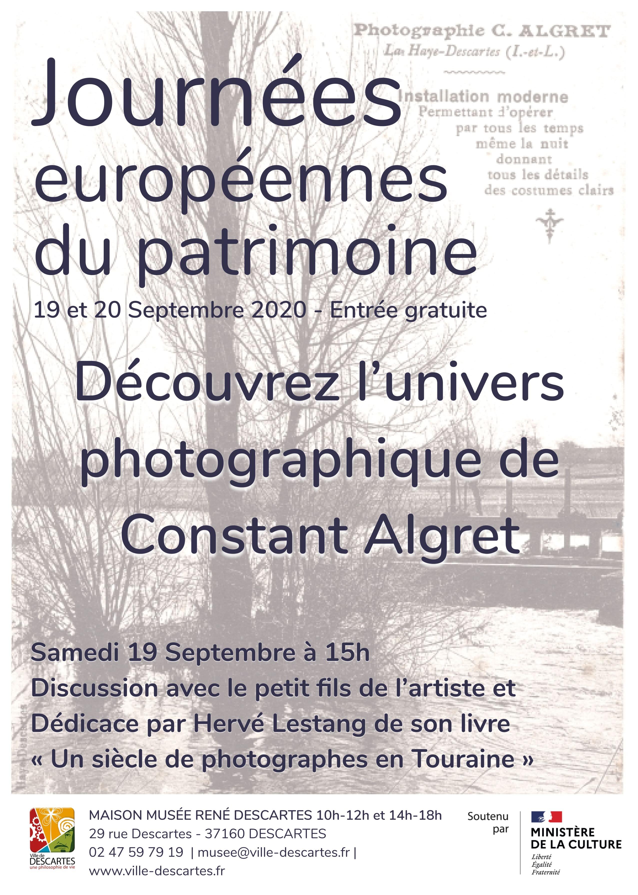 journées européennes du patrimoine à Descartes