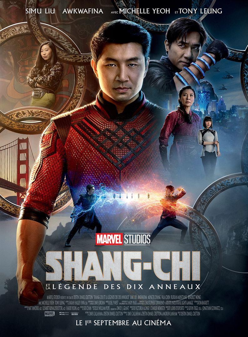Cinema Le Rabelais - shang-chi et la légende des dix anneaux