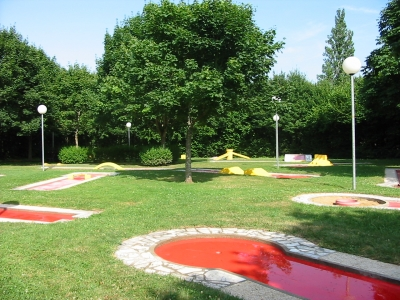 Mini Golf - Ville de Descartes